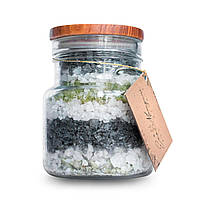 Рапная соль для ванн с бетакаротином Соленое сияние 650 г, фото 1
