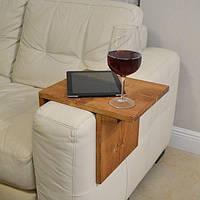 Столик на подлокотник дивана (35см*25см) p10