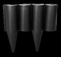 Палисад PALGARDEN черный - 2,5 м, OBP1202-002BK