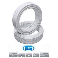Труба 26*3.0 GROSS металлопластиковая PEX/AL/PE для горячей воды