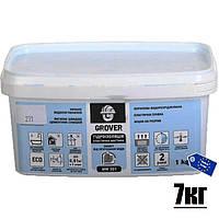 Готовая гидроизоляционная мастика для подплиточной облицовки Grover MW 301  _7кг_ / Польша