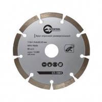 Диск CT-1002 Intertool алмазный для бетона 125 мм сегментный