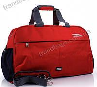 Дорожная сумка 6356 red дорожные сумки, спортивные сумки оптом недорого Одесса 7 км