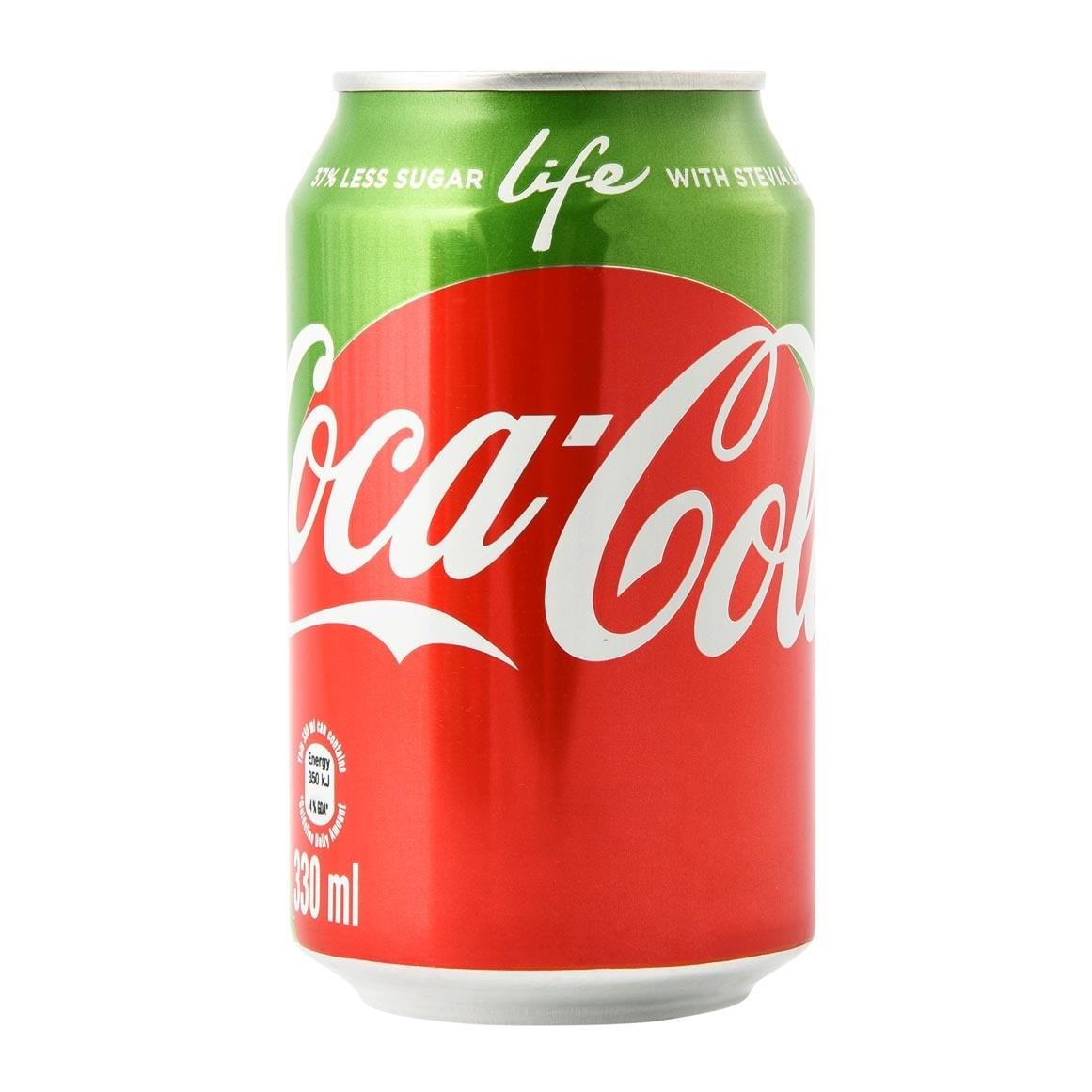 Coca Cola life Stevia 330 ml