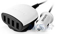 Зарядное Capdase Quartet USB Car Charger Boosta Z4 (6.2 A) White (CA00-7B02)