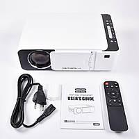 Проектор Everycom LED T5 WiFi 2600 люмен, домашний WiFi видеопроектор, фото 1