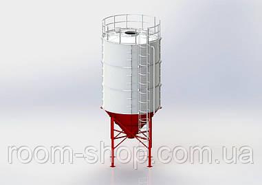 Силос (бункер накопитель) для цемента, зерна, кормов и.т.д. СЦ-15 тонн