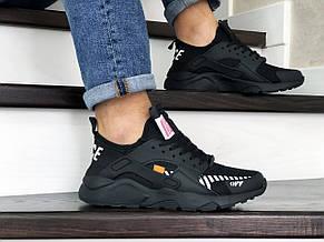 Кроссовки мужские Baas,черные,сетка, фото 2