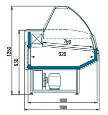 Витрина универсальная Golfstream Двина CS 120 ВСн (-6…+6С), фото 3