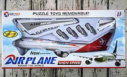 Самолет инерционный в коробке 7799-1