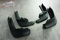 Брызговики Nissan Qashqai J11 с 2014 г.в. комплект передние + задние Твердая резина новые.