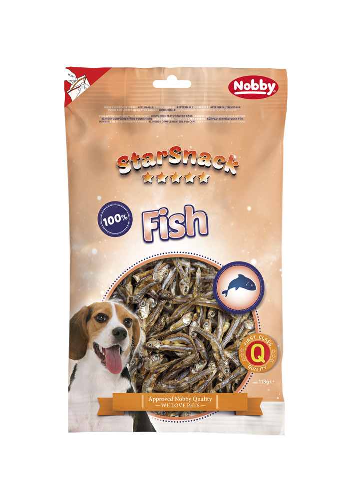 Ласощі для собак Fish 113 гр