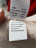 Жіноче вкорочене пальто з вовни альпака, фото 4