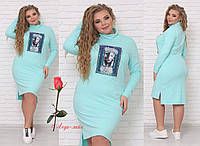 Спортивное платье батального размера RS-Женевьева, фото 1