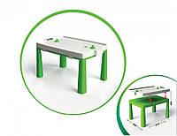 Стол детский с насадкой для аэрохоккея Doloni зеленый, 04580/2
