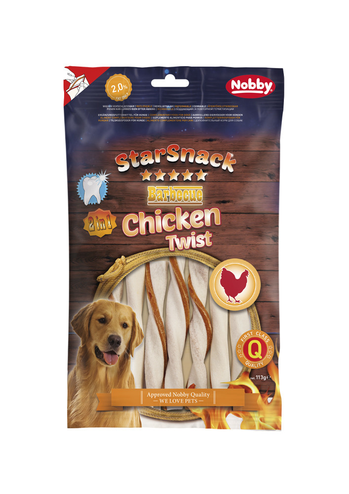 Лакомство для собак Chicken Twist 113 гр