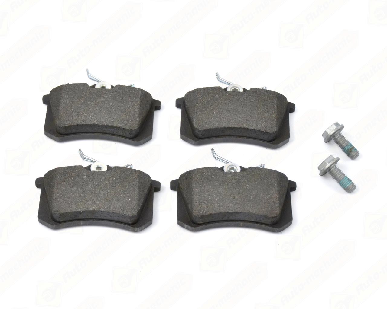 Дискові гальмівні колодки (задні) на Renault Logan II - Renault (Оригінал) - 440605713R