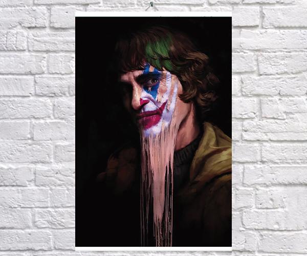 Постер BEGEMOT Джокер Joker Артур Флек 40x61 см (1120918)