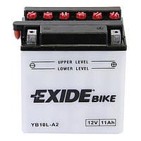 Аккумулятор Exide 12V 11AH/130A (YB10L-A2)
