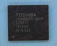 Память MLC NAND Flash 32Гбит Toshiba THGBM5G5A1JBAIR VFBGA