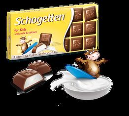 Шогеттен молочний шоколад для дітей 100 грам
