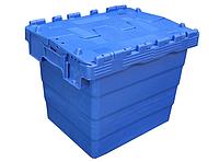 Пластиковый контейнер с крышкой SPKM 4332 (300х400хН320мм) объем 27.0 л