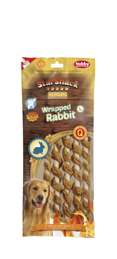 Лакомство для собак Wrapped Rabbit L  5 шт * 25 см  144 гр