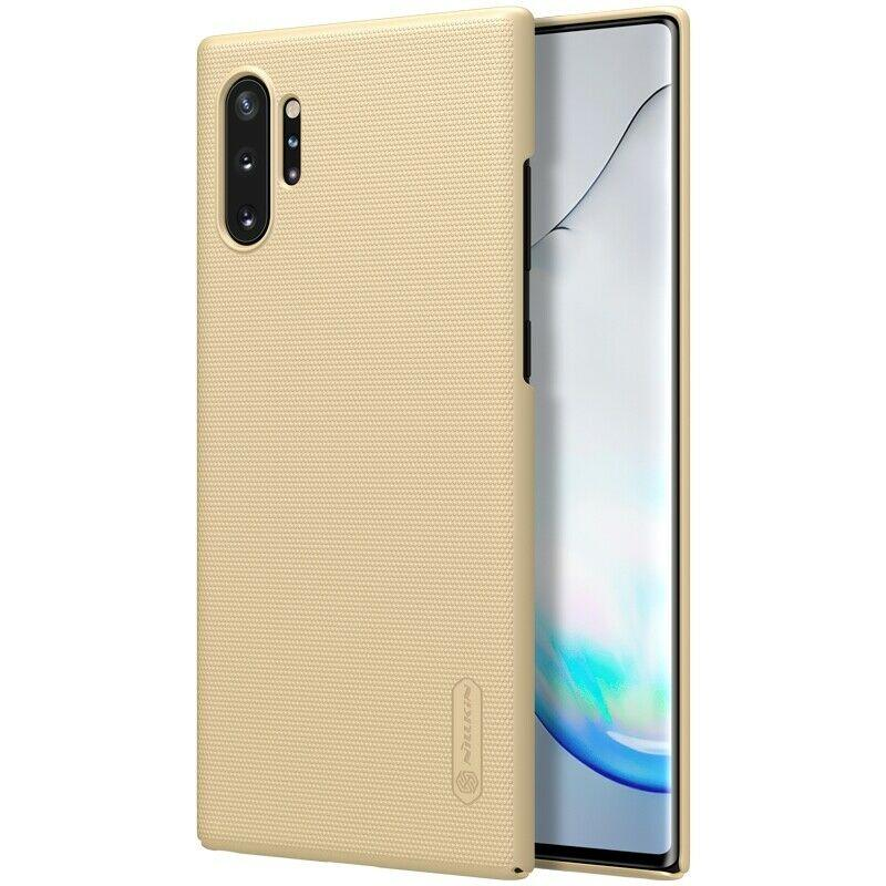 Nillkin Samsung Galaxy Note 10+ Super Frosted Shield Gold Чехол Накладка Бампер