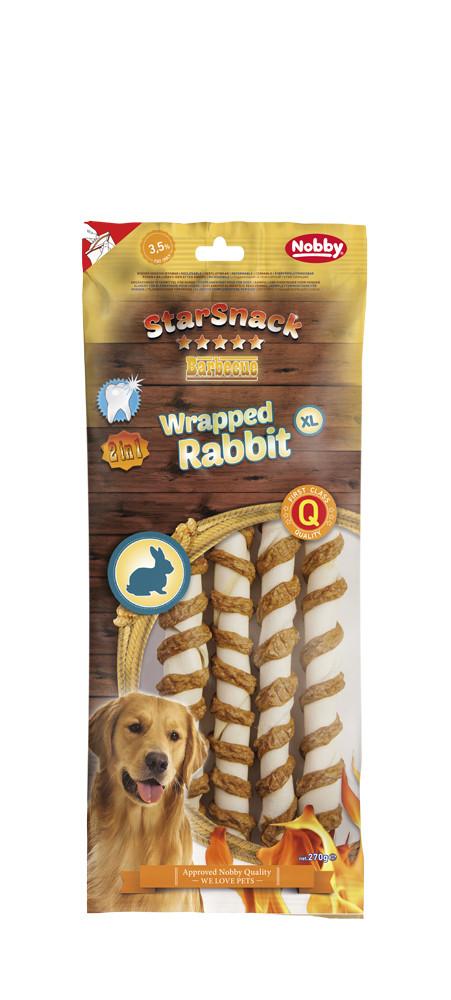 Лакомство для собак  Wrapped Rabbit  XL 4 шт * 25 см  270 гр