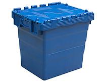 Пластиковий контейнер з кришкою SPKM 4336 (300х400хН365мм) обсяг 32.0 л, фото 1