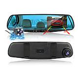Зеркало с видеорегистратором BLАСKBОХ MR-01 DVR Full HD 1080P + задняя камера для парковки CPA, фото 3
