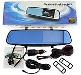 Зеркало с видеорегистратором BLАСKBОХ MR-01 DVR Full HD 1080P + задняя камера для парковки CPA, фото 6