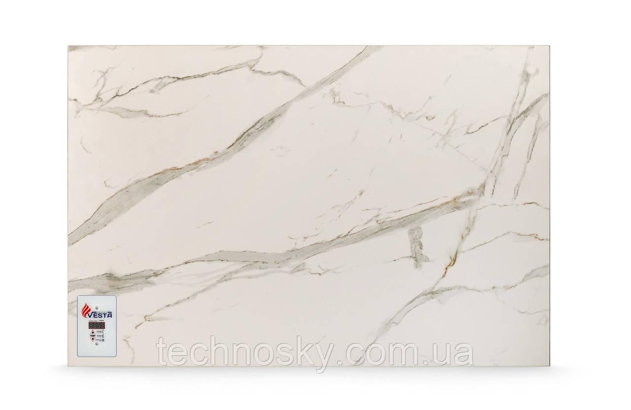 Керамический инфракрасный обогреватель VESTA PRO 700 белый мрамор