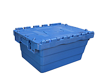 Пластиковый контейнер с крышкой SPKM 4321 (300х400хН200мм) объем 21.0 л