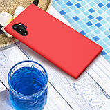 Nillkin Samsung Galaxy Note 10 + Flex Pure Case Red Силиконовый Чехол, фото 4