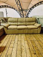 Кожаный диван б у раскладной «Рассел»