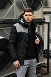 😜 Парка - Куртка весенняя ALLEN (черно-серый) :zap:, фото 5