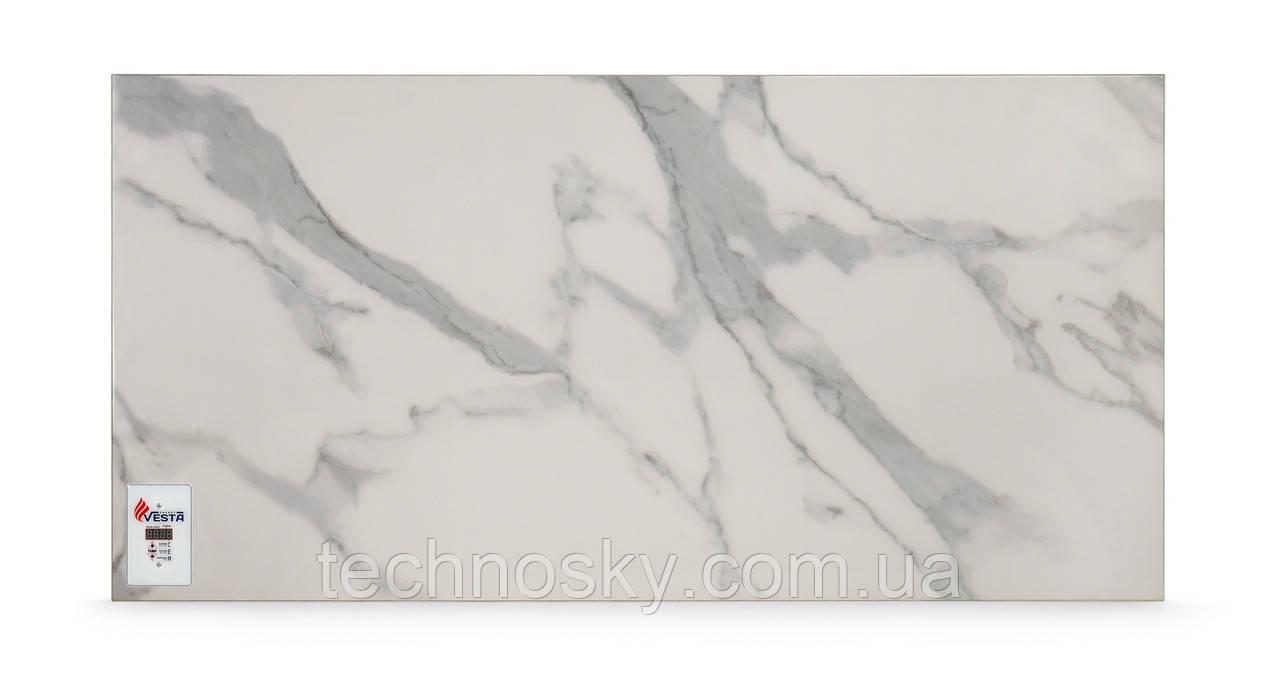 Керамический инфракрасный обогреватель VESTA PRO 1000 белый мрамор