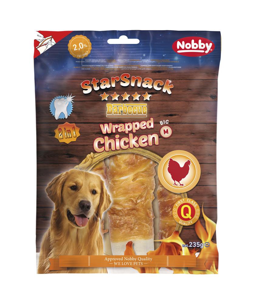 Лакомство для собак Barbecue пластины с куриным мясом 3 шт  235 гр