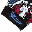 Повні спортивні вітрозахисні мотоциклетні рукавички з принтом графіті. Розмір XL, фото 3
