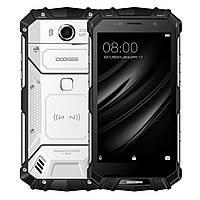 Защищенный мобильный телефон DOOGEE S60 pro silver  4+64 GB