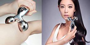 3D -Массажер для Лица и Тела, Роликовый массажер, подтяжка кожи, тонизация мышц, Похудение, фото 3