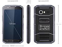 Защищенный мобильный телефон Land rover Kenxinda   W8 black, фото 1