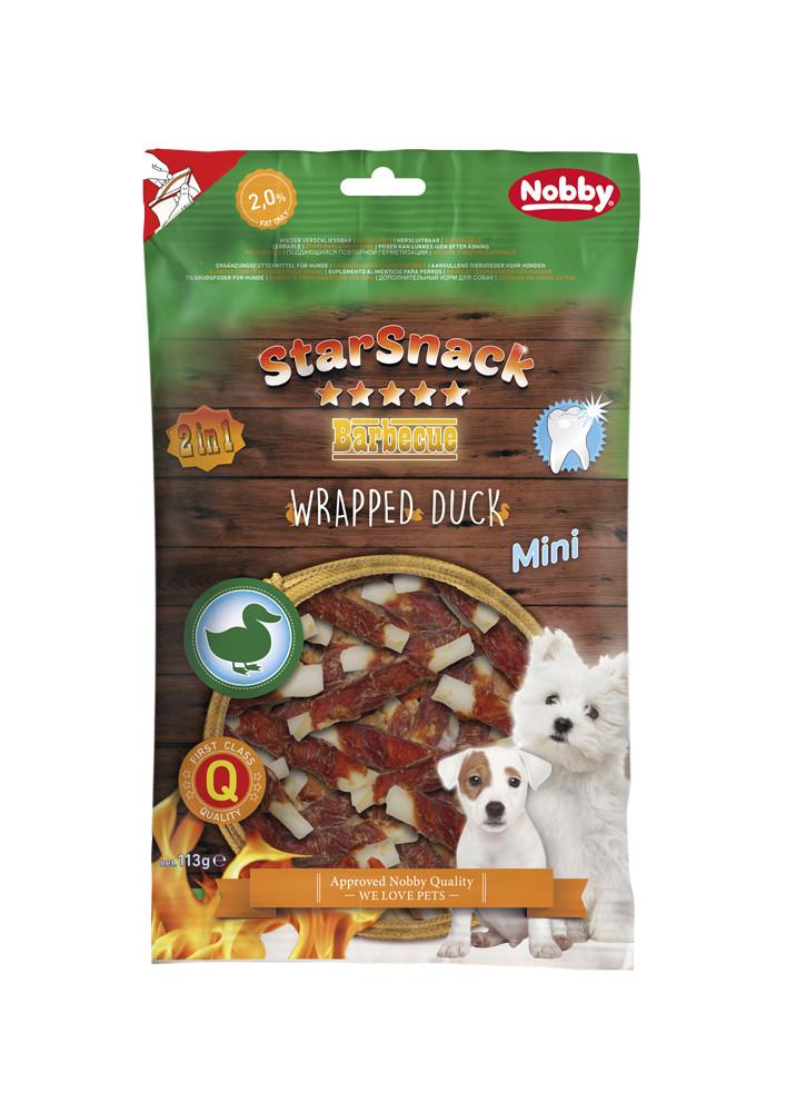 Лакомство для собак  MINI Wrapped Duck 113 г