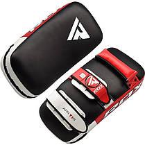 Пады для тайского бокса RDX Red (пара), фото 3
