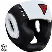Боксерский шлем с защитой подбородка RDX WB L