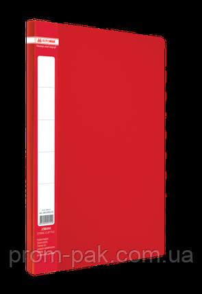 Папка A4 с боковым прижимом JOBMAX, красный, фото 2