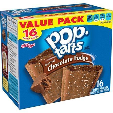 Pop Tarts Chocolate Fudge Упаковка