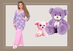 Женские пижамы большого размера
