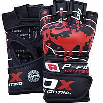 Перчатки ММА RDX Blood L, фото 2